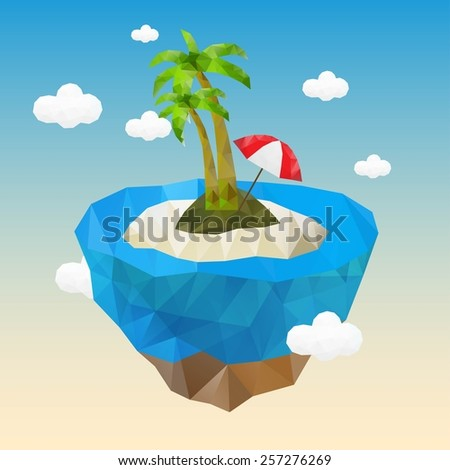 little beautiful planet island
