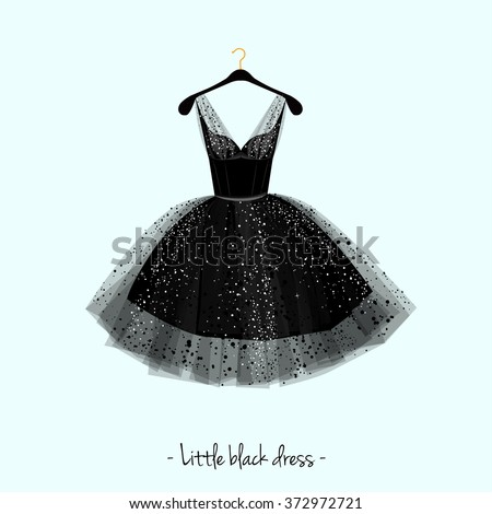 little black dress party dress