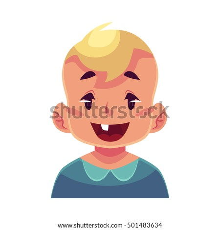 Vector Images, Illustrations and Cliparts: Little boy face