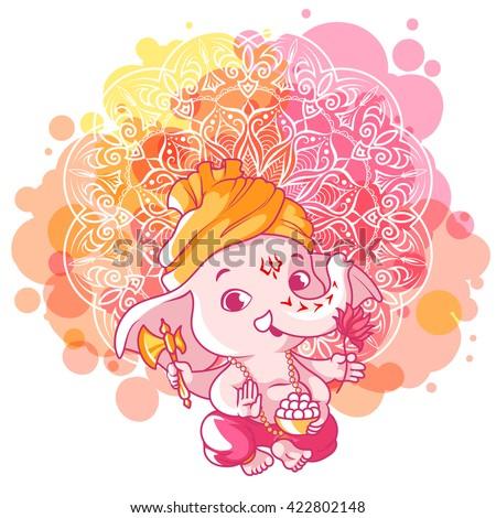 download cute ganesha wallpaper 240x320 wallpoper 104437