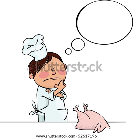 Little Chef - stock vector