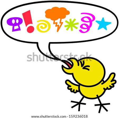 Behave Badly Clipart Little chicken in very bad and Well Behaved Child Clipart