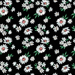 Little Daisy print - seamless background