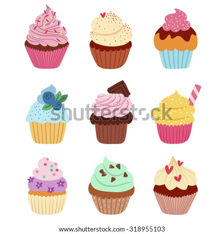 little delicious cupcakes