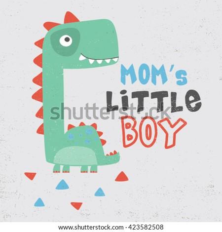 little dinosaur illustration