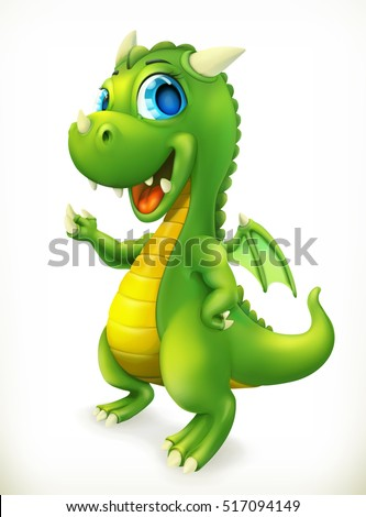 little dragon cartoon character