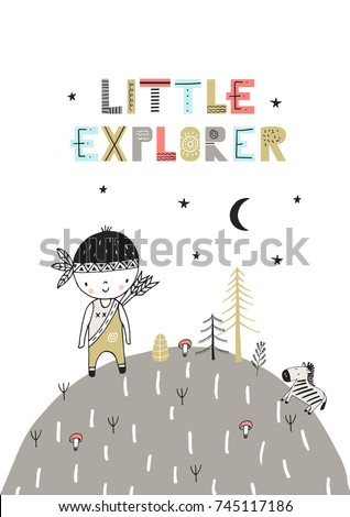 little explorer   cute hand