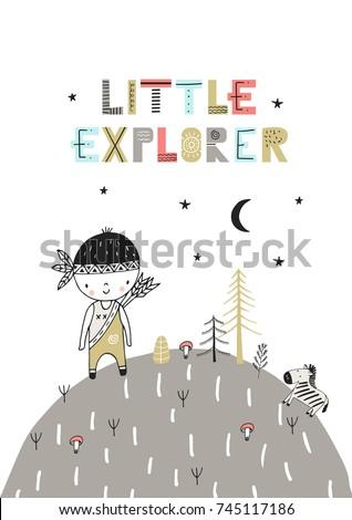 little explorer   cute hand