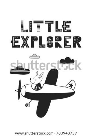 little explorer   unique hand