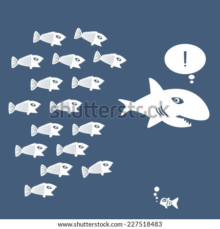 little fish eat big fish unity