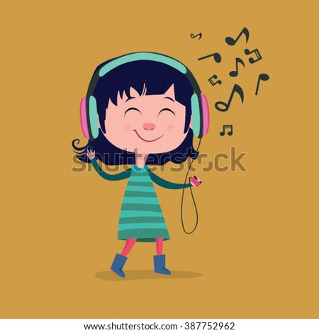 little girl cartoon music