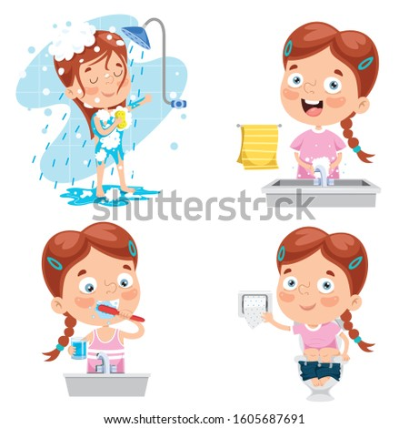 Kids Hygiene Stock Illustrations – 4,882 Kids Hygiene Stock Illustrations,  Vectors & Clipart - Dreamstime
