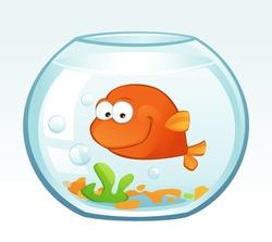Little Goldfish (Smiling)
