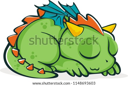 Little Green Dragons Mascot Character