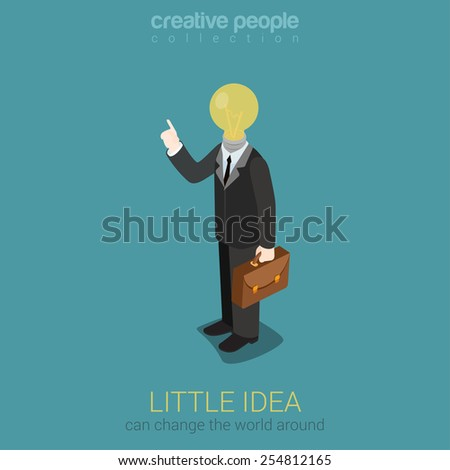 little idea can light up and
