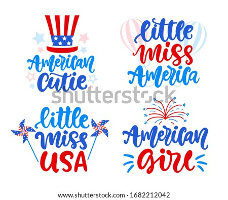little miss america  american