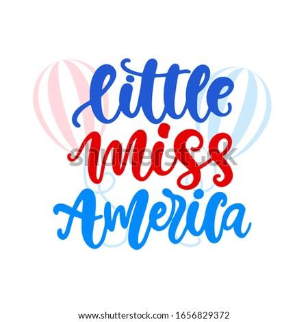 little miss america hand