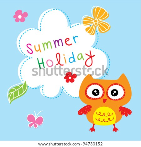 little owl summer holiday
