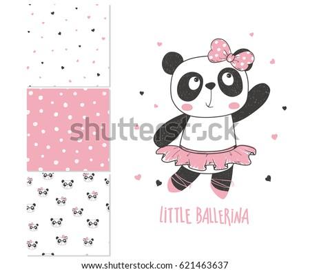little panda ballerina surface