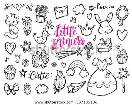 little princess funny graphic