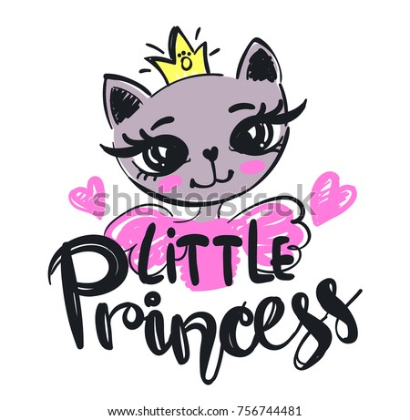 little princess illustration