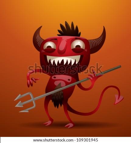 Little Red Devil, vector 02