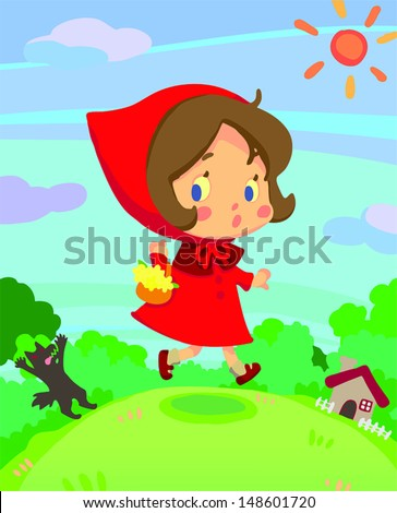 little red riding hood girl