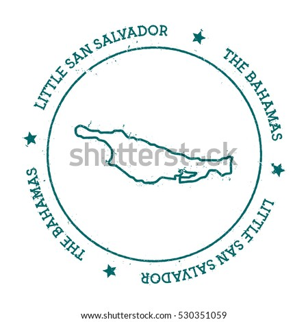 little san salvador island...