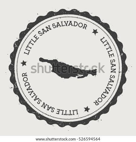 little san salvador island...