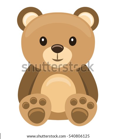 little teddy bear character