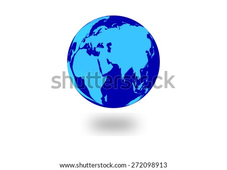 livable world circular world map