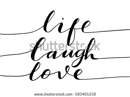 live  laugh  love hand