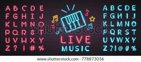 live music piano symbol icon