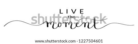 live the moment brush