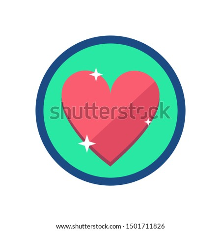 Lives Icon. Lives Sign Symbol. Flat Illustration Of Lives - Vector Icon