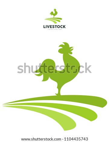 Livestock Rooster suitable for farming, print, t-shirts and others