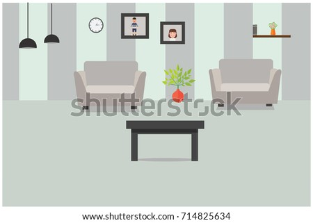 living room and lounge interior