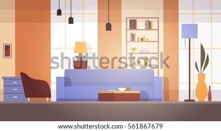 living room interior home
