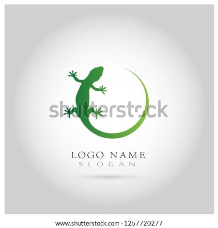 lizard   gecko logo icon