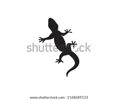 72f72d881 Vector gecko tattoo isolated on withe… Stock Photo 42326788 - Avopix.com