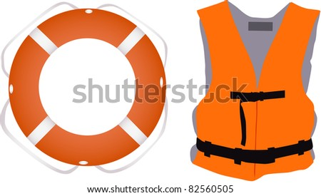 Llife jacket ,life buoys