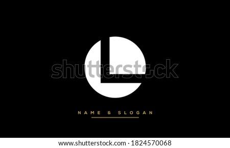 LO, OL Alphabet Letters Logo Foto stock ©