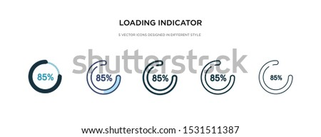 loading indicator icon in