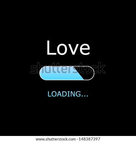loading love illustration