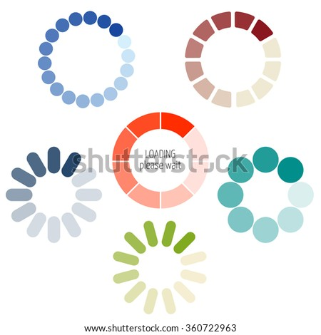 loading process circular icon