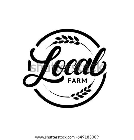 local farm hand written...