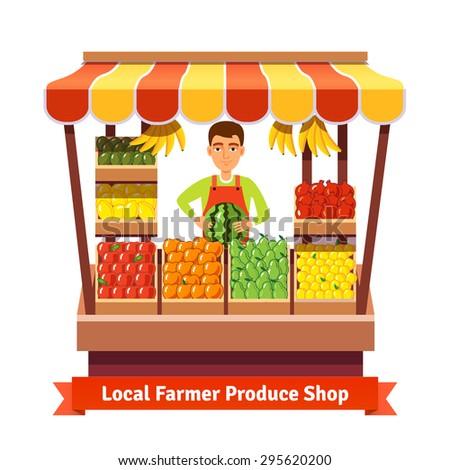 local farmer produce shop