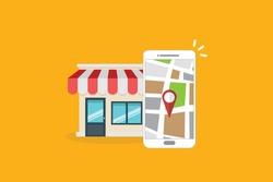 Local SEO. Local search marketing e-commerce