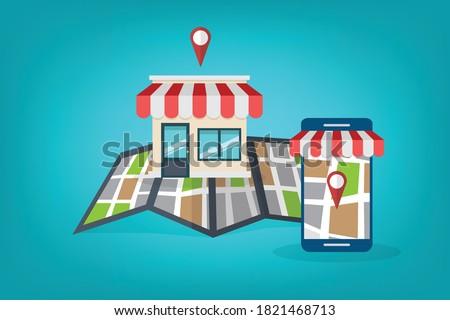 Local SEO. Local search marketing ecommerce