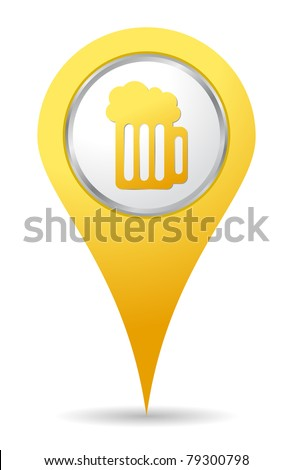 location bar icon with beer drawing